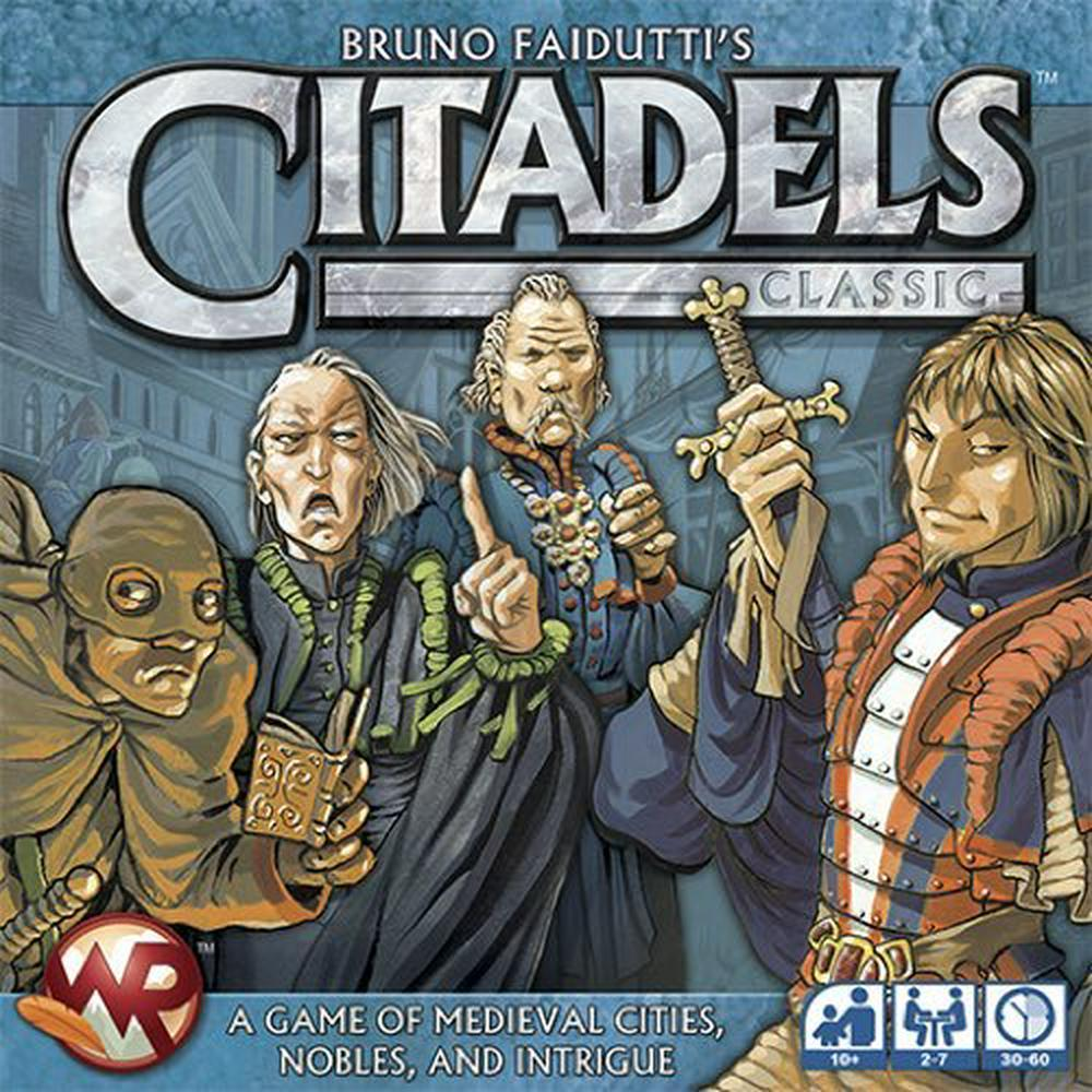 Citadels Classic-Fantasy Flight Games-Game Kings