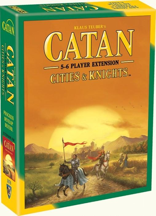 Catan: Cities & Knights - 5-6 Player Extension (5th Edition)-Catan Studio-Game Kings