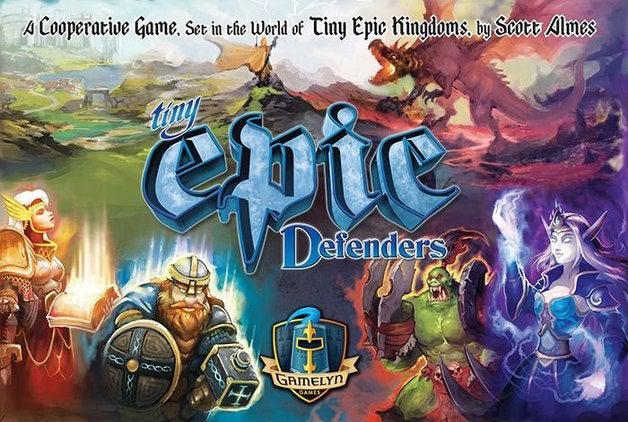 Tiny Epic Defenders 2nd Edition-Gamelyn Games-Game Kings