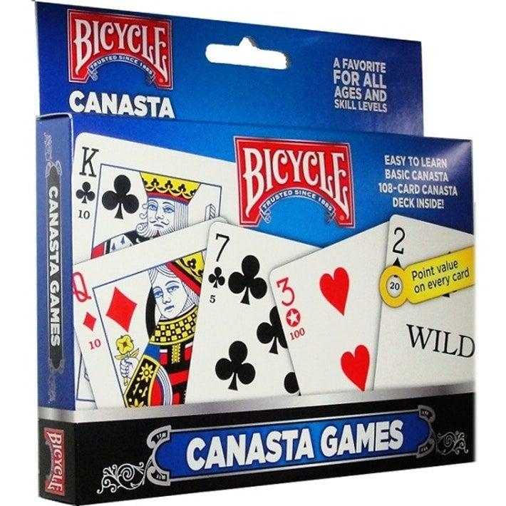 Bicycle Canasta Playing Cards-Game Kings-Game Kings