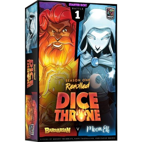 Dice Throne Season One Re-Rollled : Barbarian vs Moon Elf-Roxley games-Game Kings