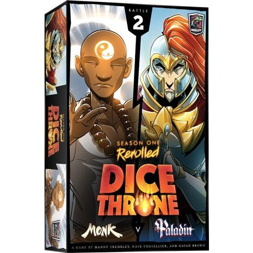 Dice Throne Season One Re-Rollled: Monk vs Paladin-Roxley games-Game Kings