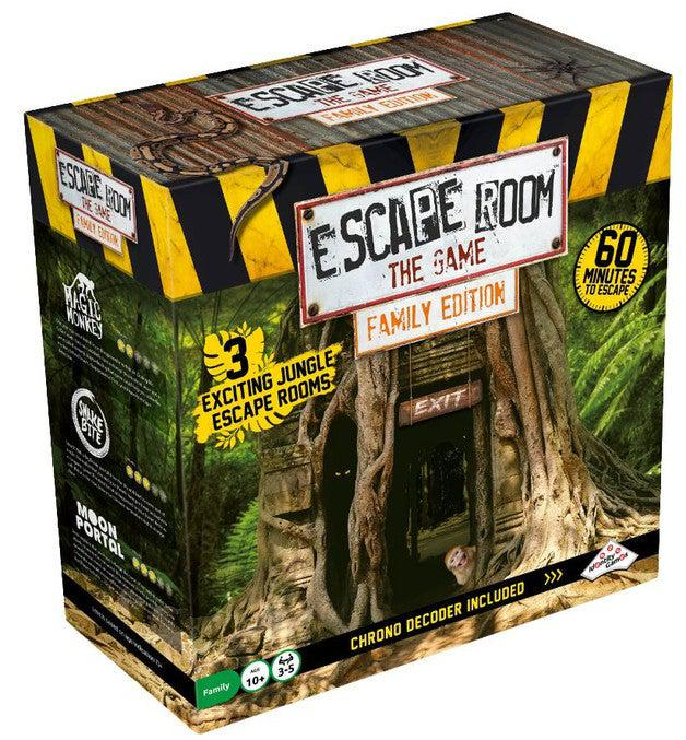 Escape Room the Game Family Edition - Jungle-Spin Master Games-Game Kings