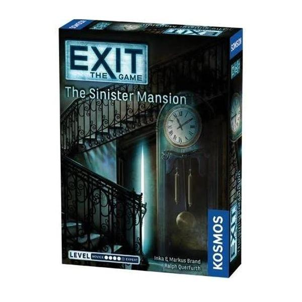 Exit the Game - The Sinister Mansion-Kosmos Games-Game Kings