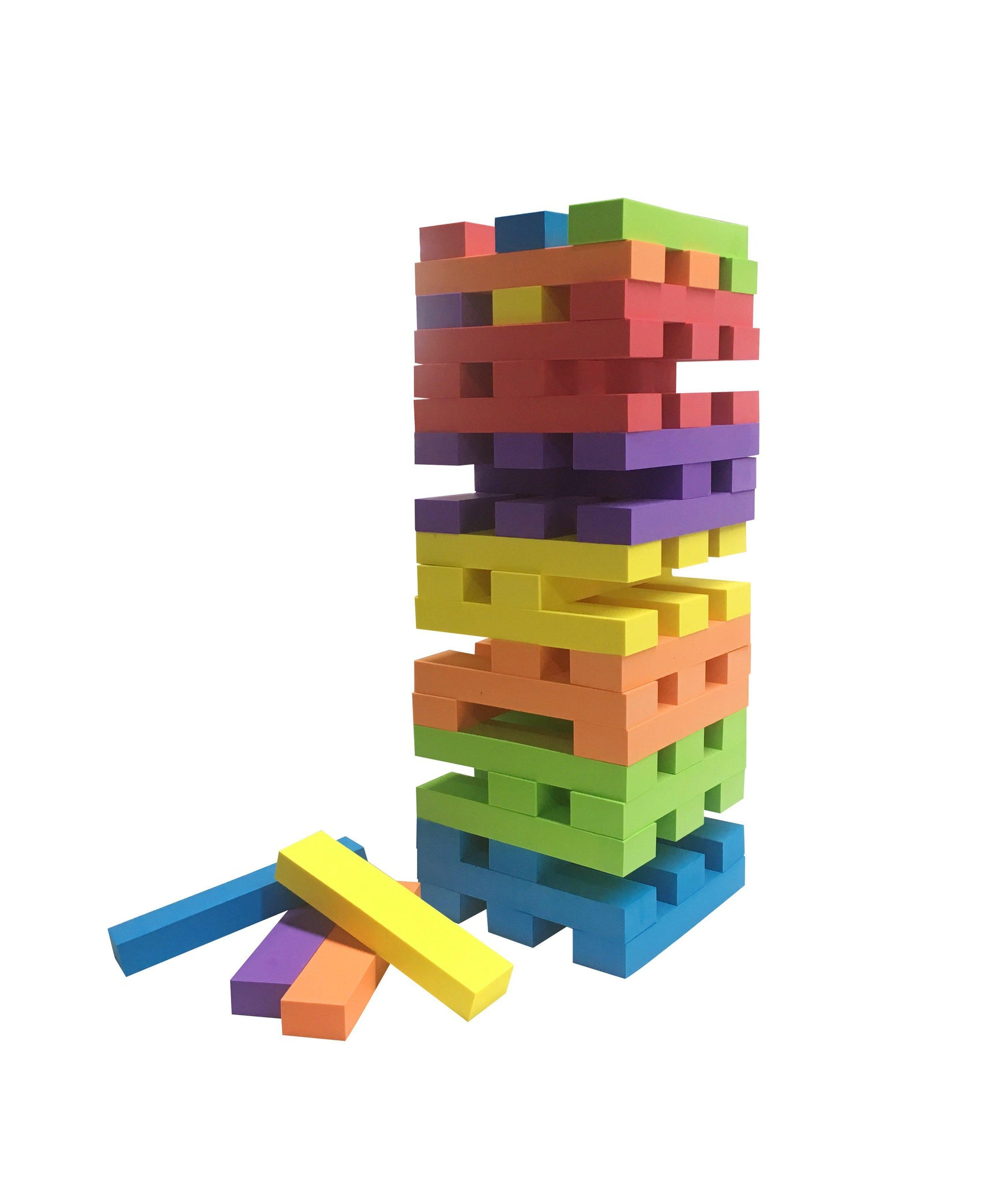 Easy Days EVA Giant Rubber Jenga-Easy Days-Game Kings