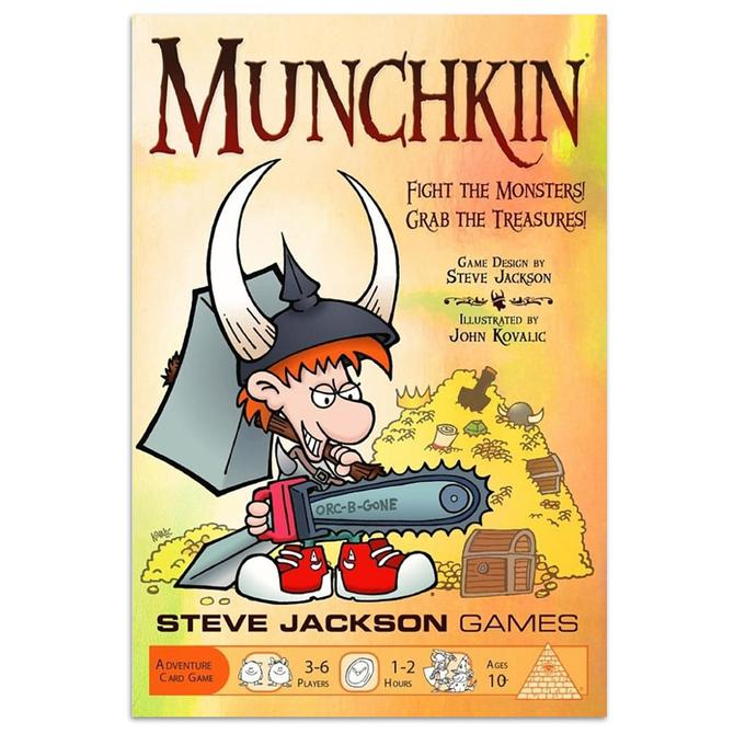 Munchkin: Shiney Box Edition-Steve Jackson Games-Game Kings