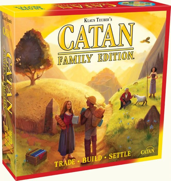 Catan - Family Edition-Asmodee-Game Kings