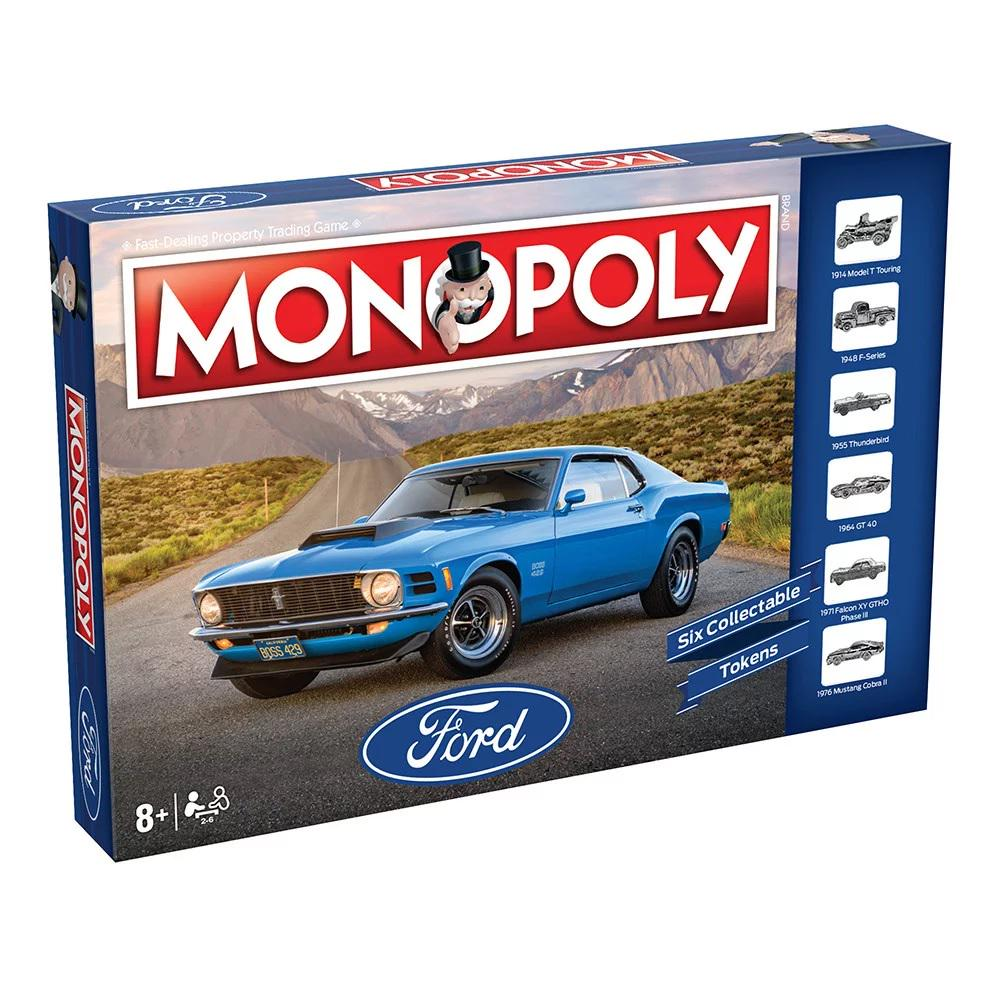 Monopoly - Ford Edition-Monopoly-Game Kings