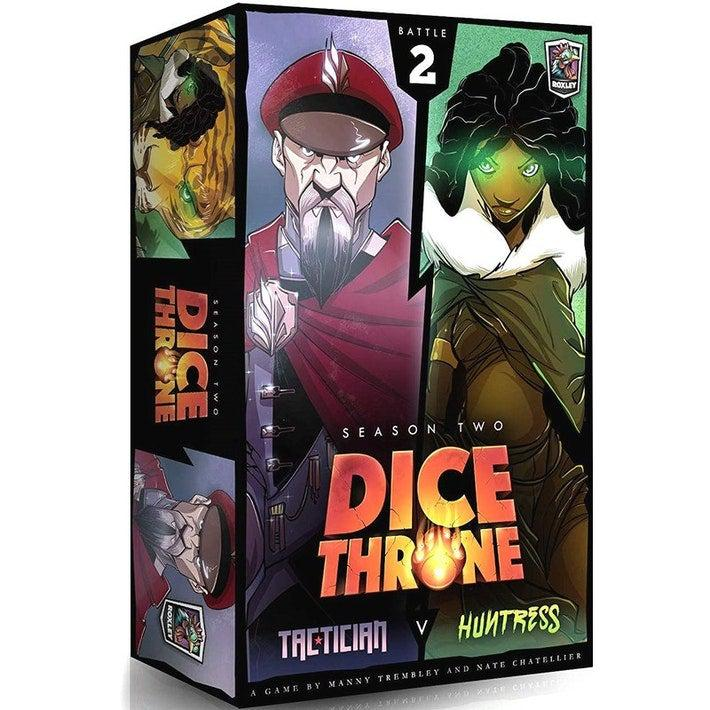 Dice Throne Season 2: Tactician vs Huntress-Roxley games-Game Kings