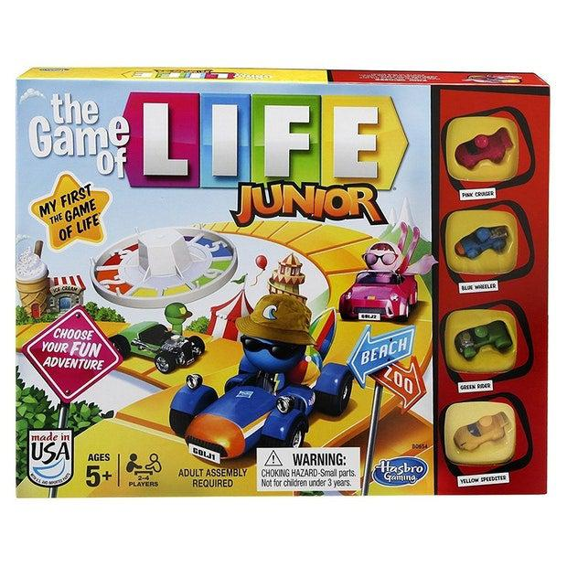 The Game of Life Junior-Hasbro-Game Kings