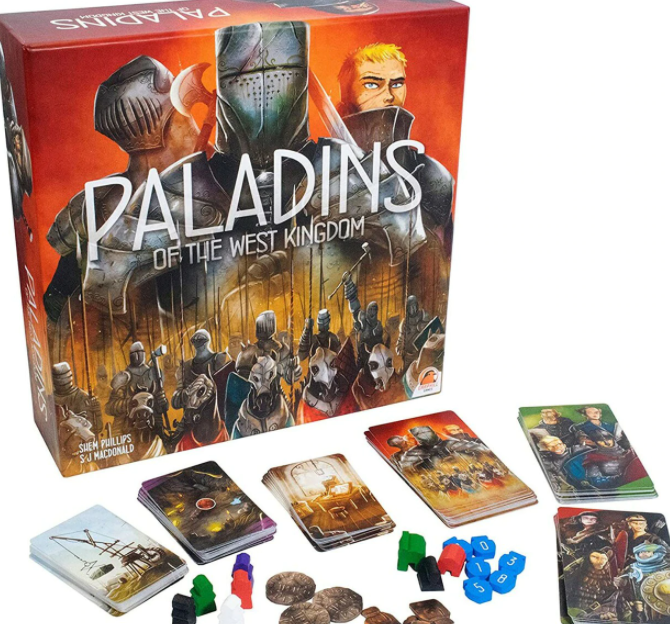 Paladins of the West Kingdom-Renegade Game Studios-Game Kings