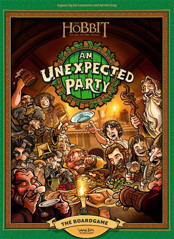 The Hobbit - An Unexpected Party Board Game-Weta Workshop-Game Kings
