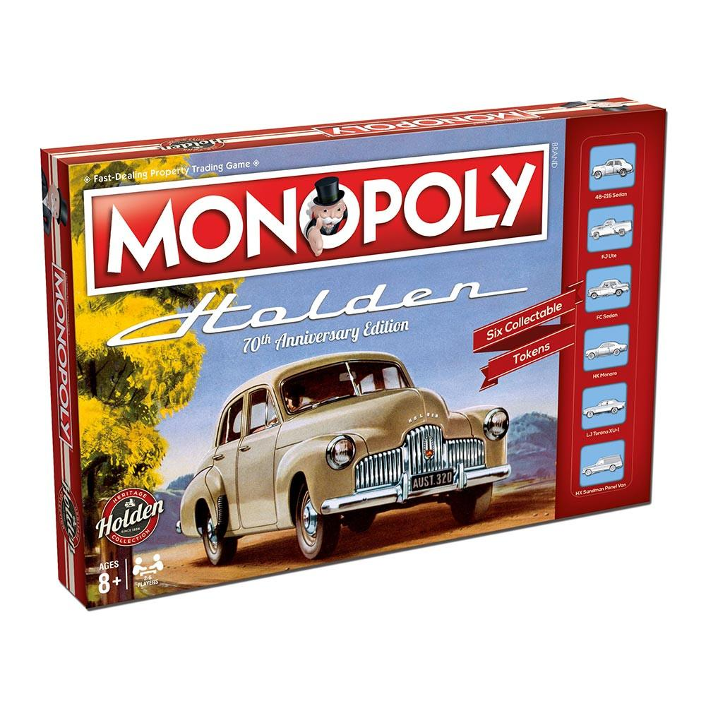 Monopoly - Holden Heritage Edition-Hasbro-Game Kings