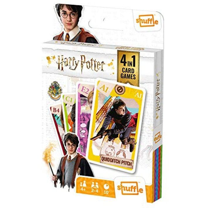 Shuffle 4 in 1 - Harry Potter-Carta Mundi-Game Kings