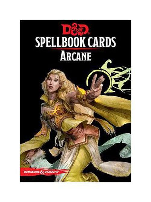 D&D: Spellbook Cards: Arcane Deck (253 Cards)-Dungeons & Dragons-Game Kings