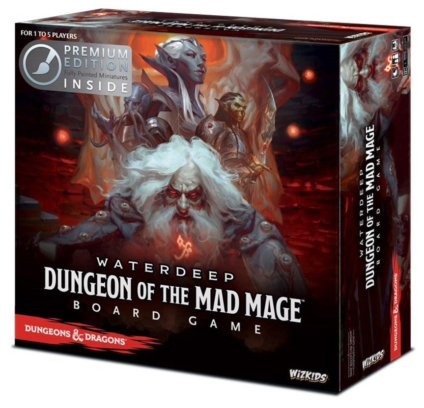 Dungeons & Dragons Waterdeep: Dungeon of the Mad Mage Boardgame Premium Edition-Dungeons & Dragons-Game Kings