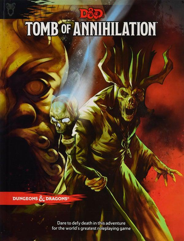 D&D Book - Tomb of Annihilation-Dungeons & Dragons-Game Kings