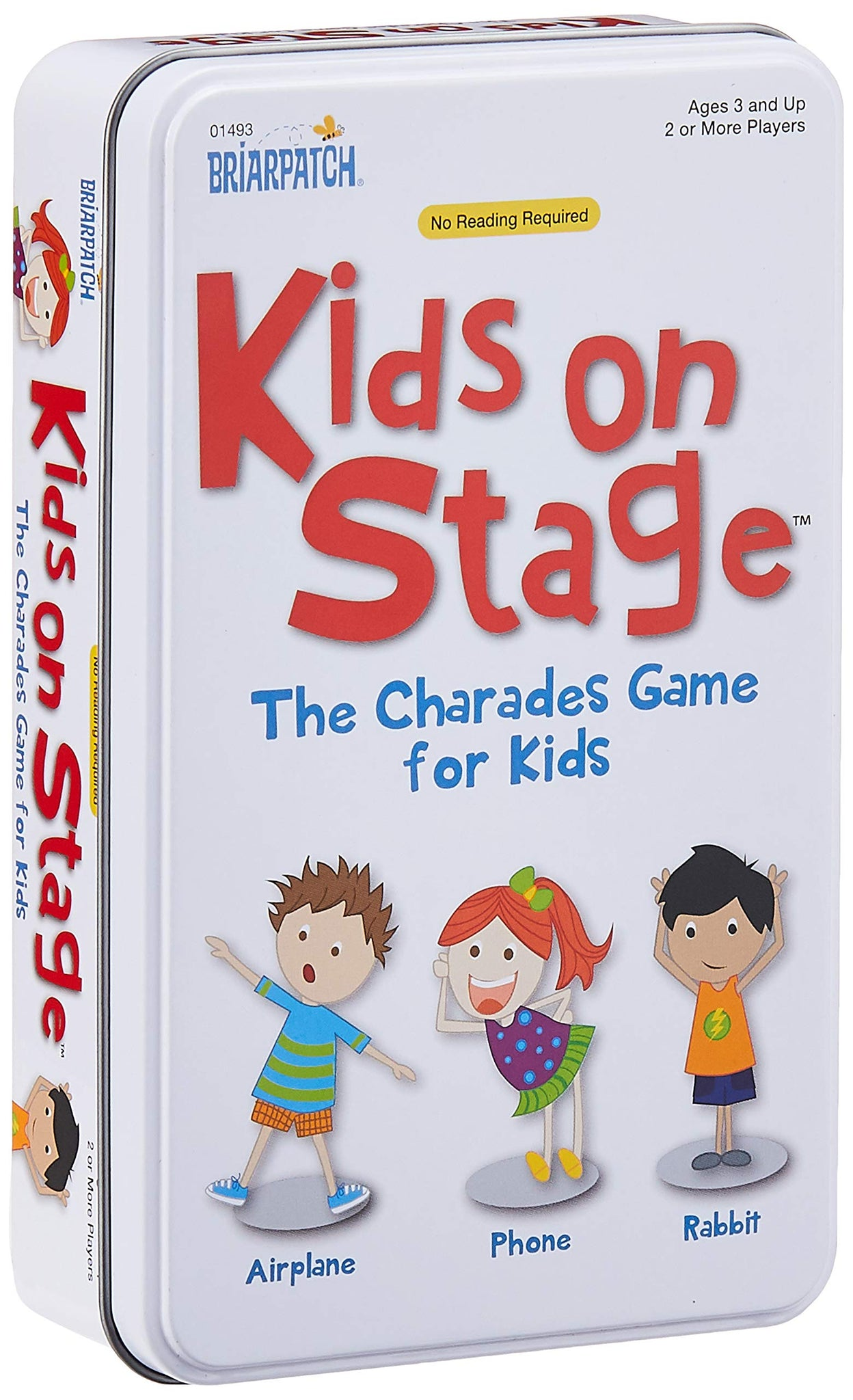 Charades - Kids on Stage Tin-University Games-Game Kings