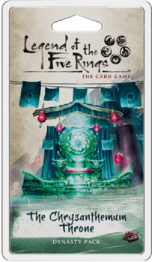 Legend of the Five Rings LCG - The Chrysanthemum Throne-Game Kings-Game Kings