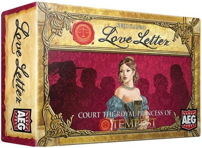 Love Letter Boxed Edition-Game Kings-Game Kings