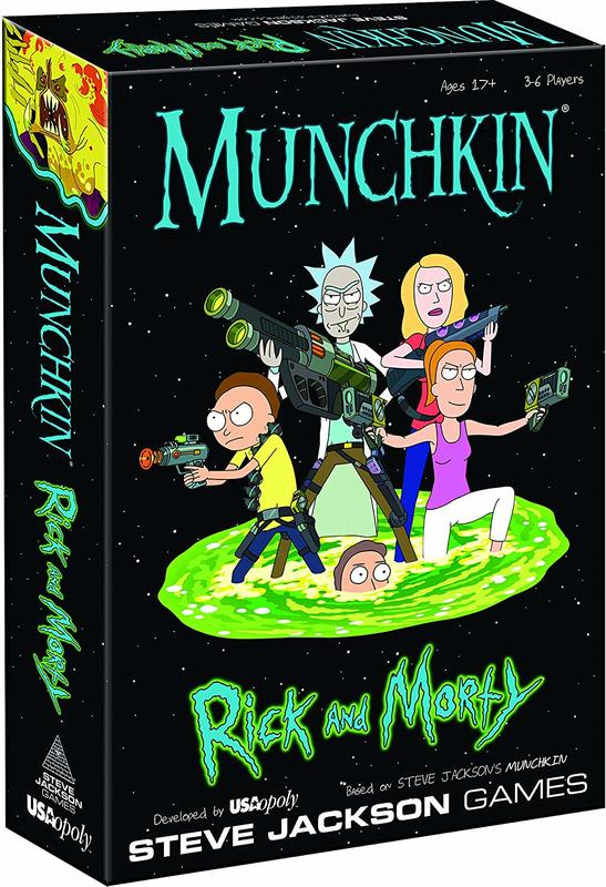 Munchkin - Rick and Morty Edition-Cryptozoic-Game Kings