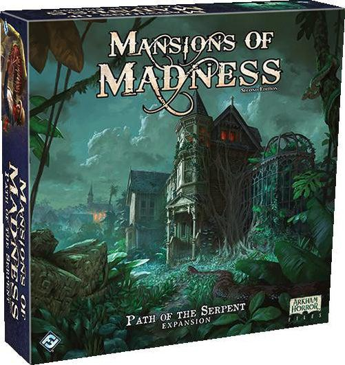 Mansions of Madness Path of the Serpent Expansion-Fantasy Flight Games-Game Kings