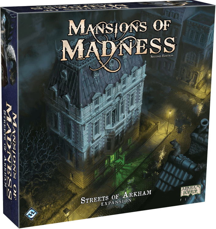 Mansions of Madness - Streets of Arkham Expansion-Game Kings-Game Kings