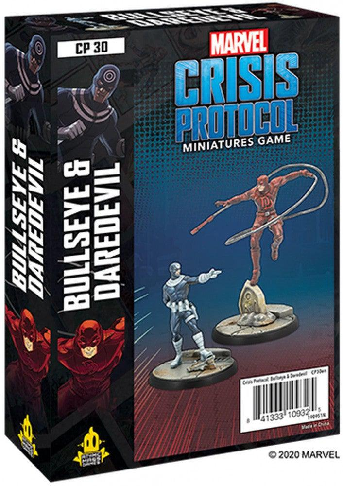 Marvel Crisis Protocol Bullseye and Daredevil-Atomic Mass Games-Game Kings