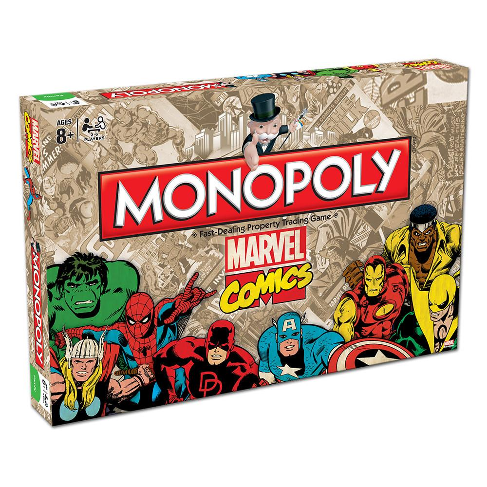 Monopoly - Marvel Comics Edition-Hasbro-Game Kings