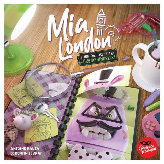 Mia London - And the Case of the 625 Scoundrels-Le Scorpion Masqué-Game Kings
