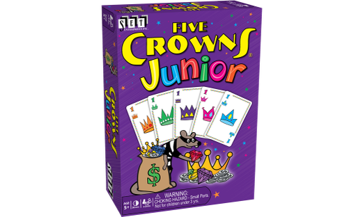 Five Crowns Junior-SET Enterprises-Game Kings