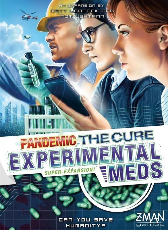 Pandemic: The Cure - Experimental Meds-Z-Man Games-Game Kings
