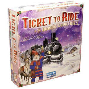 Ticket To Ride: Nordic Countries-Days of Wonder-Game Kings