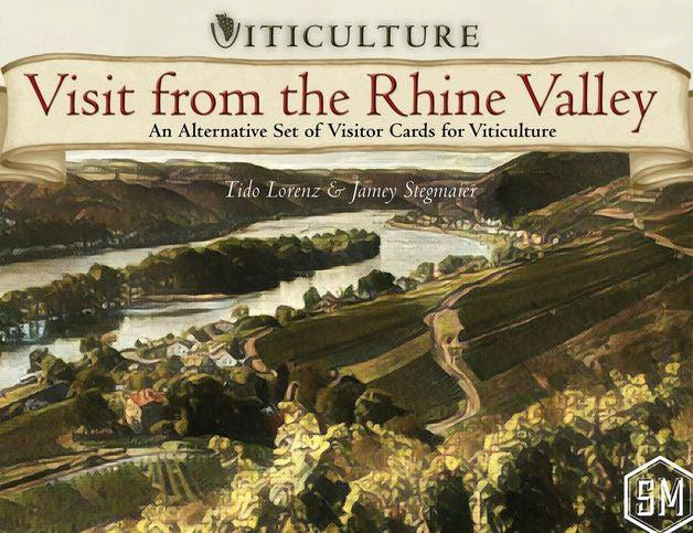 Viticulture - Visit from the Rhine Valley-Stonemaier Games-Game Kings