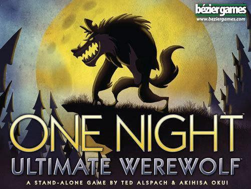 One Night Ultimate Werewolf-bezier games-Game Kings
