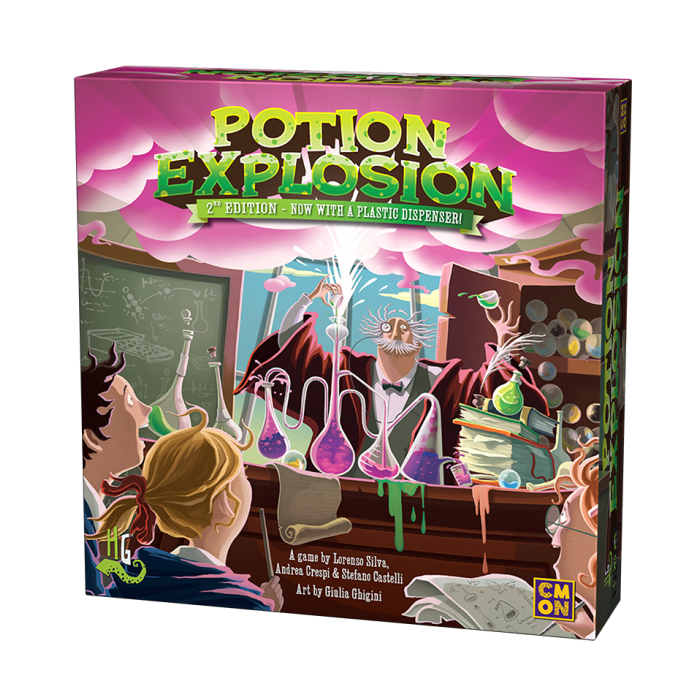 Potion Explosion 2nd Edition-Cool Minis or Not-Game Kings