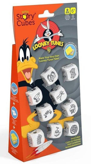 Rorys Story Cubes - Looney Tunes-Creativity Hub-Game Kings
