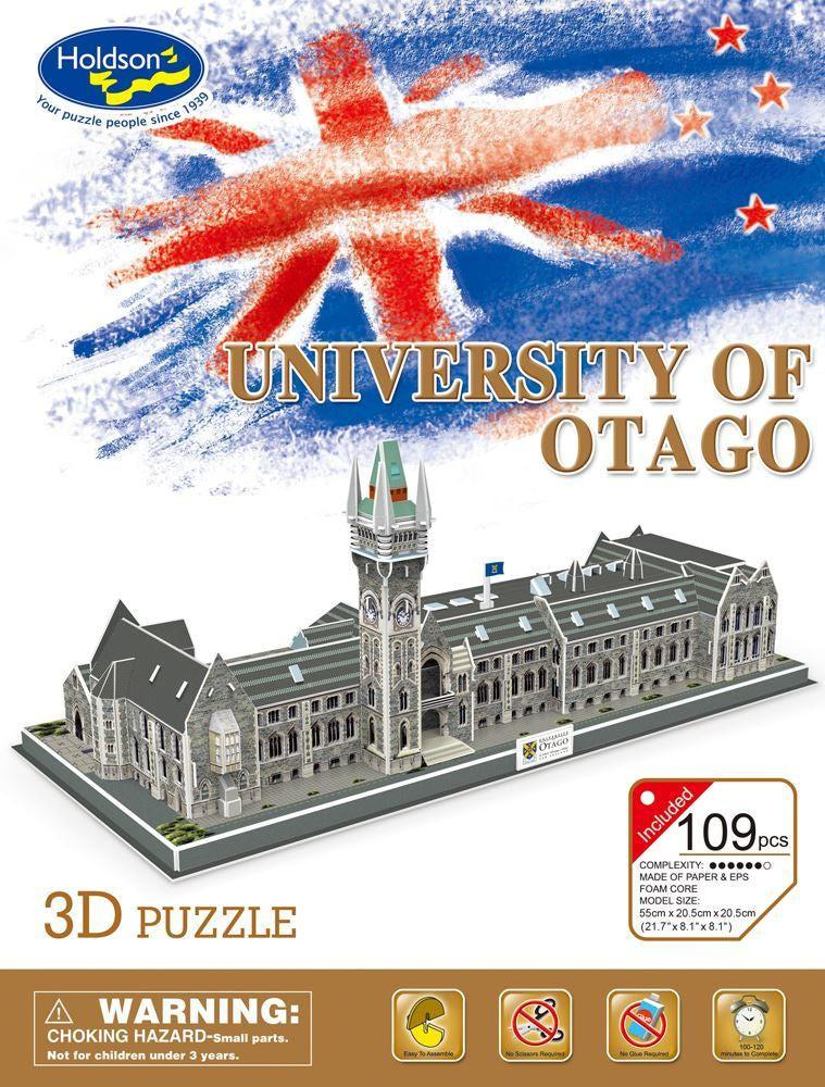 University of Otago - 3D Puzzle-Holdson's-Game Kings