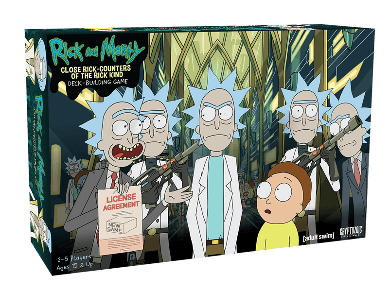 Rick and Morty - Close Rick-Counters of the Rick Kind - Game Kings