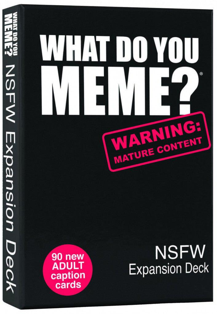 What Do You Meme? NSFW Expansion Deck-What do you Meme?-Game Kings