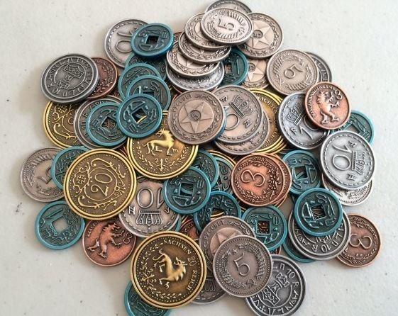 Scythe Metal Coins-Game Kings-Game Kings