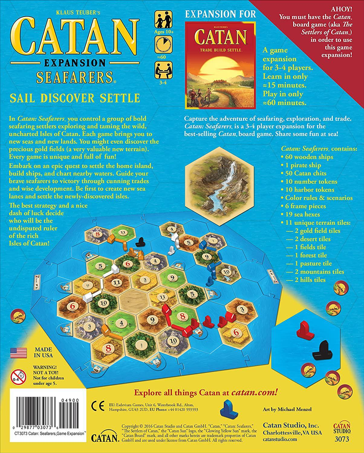 Catan - Seafarers Expansion-Catan Studio-Game Kings