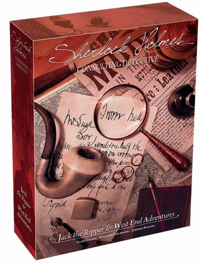 Sherlock Holmes Consulting Detective - Jack the Ripper & West End Adventures-Game Kings-Game Kings