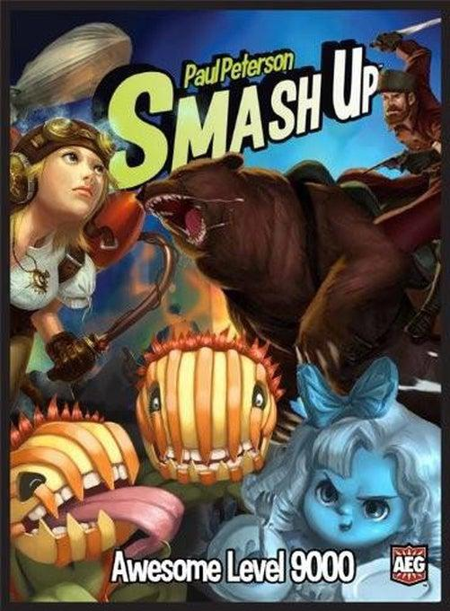 Smash Up - Awesome Level 9000 Expansion-Game Kings-Game Kings