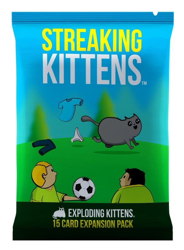 Exploding Kittens - Streaking Kittens-Exploding Kittens-Game Kings