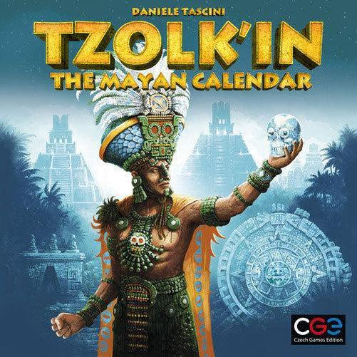 Tzolkin The Mayan Calendar-Czech Games-Game Kings
