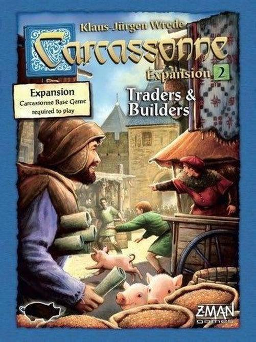 Carcassonne - Traders & Builders Expansion-Rio Grande Games-Game Kings