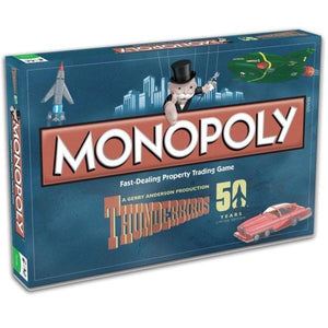 Thunderbirds 50 Years Monopoly Limited Edition - Game Kings