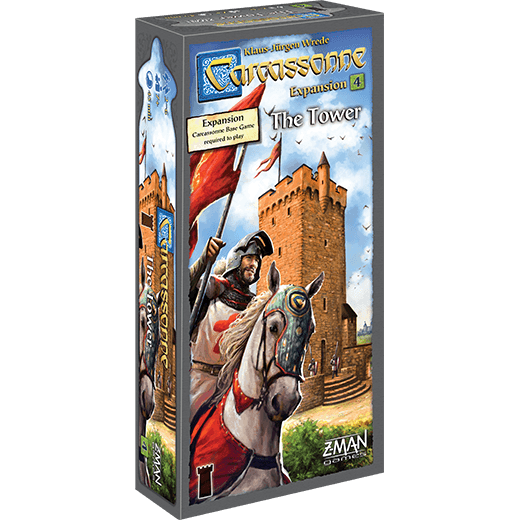 Carcassonne - The Tower Expansion-Rio Grande Games-Game Kings