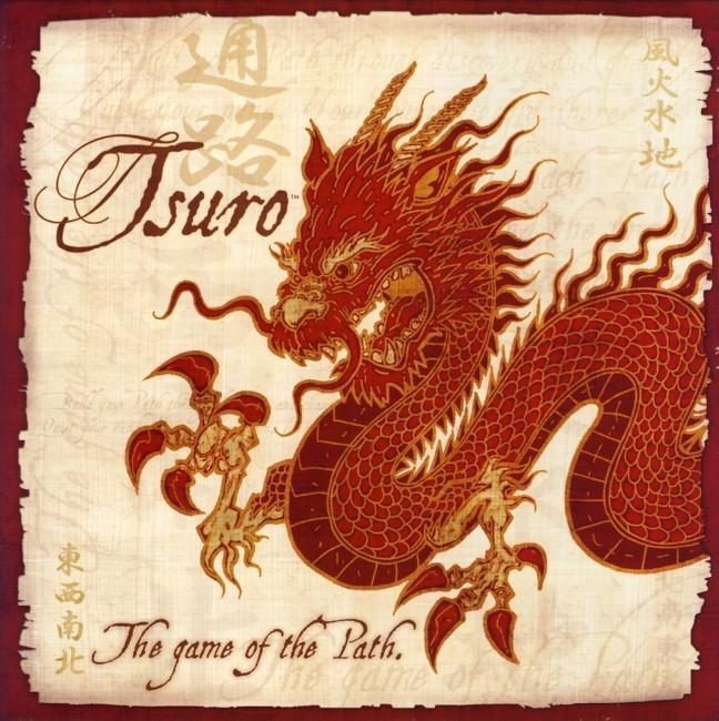 Tsuro the Game of the Path-Game Kings-Game Kings